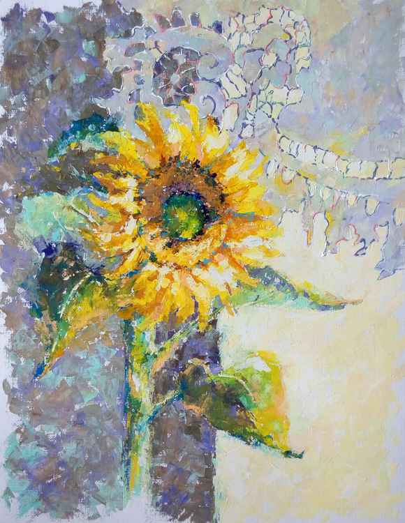 «Still life with Sunflowers»