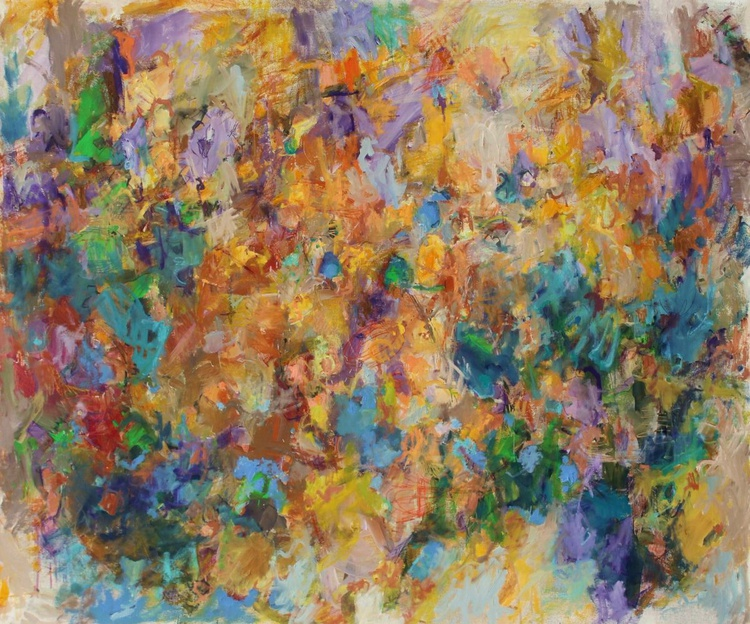 Honey -  Extra Large Abstract Painting - Image 0