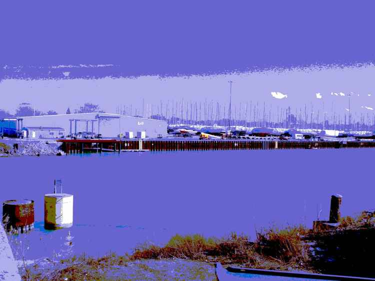 Calumet River Boatyard, Chicago -