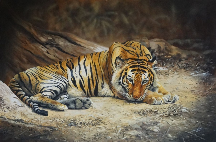 The Escapee-Bengal Tiger - Image 0