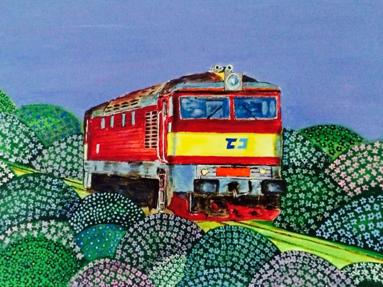 BRIGITTE BARDOT TRAIN 1 - SPRING - Image 0