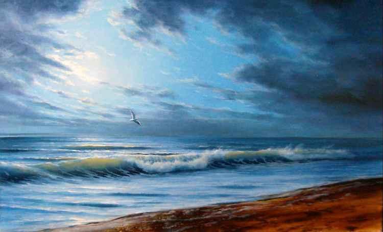 See breeze, Original oil on canvas