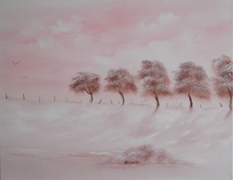 Pink Winter Blanket - Image 0