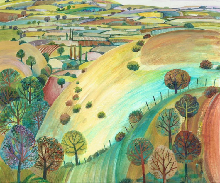 Autumn on the Downs - Image 0