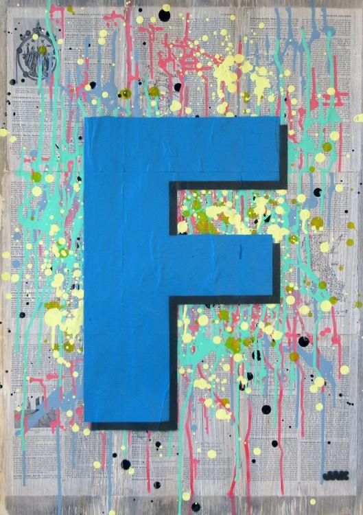 F - Helvetica Heavy Condensed - Image 0