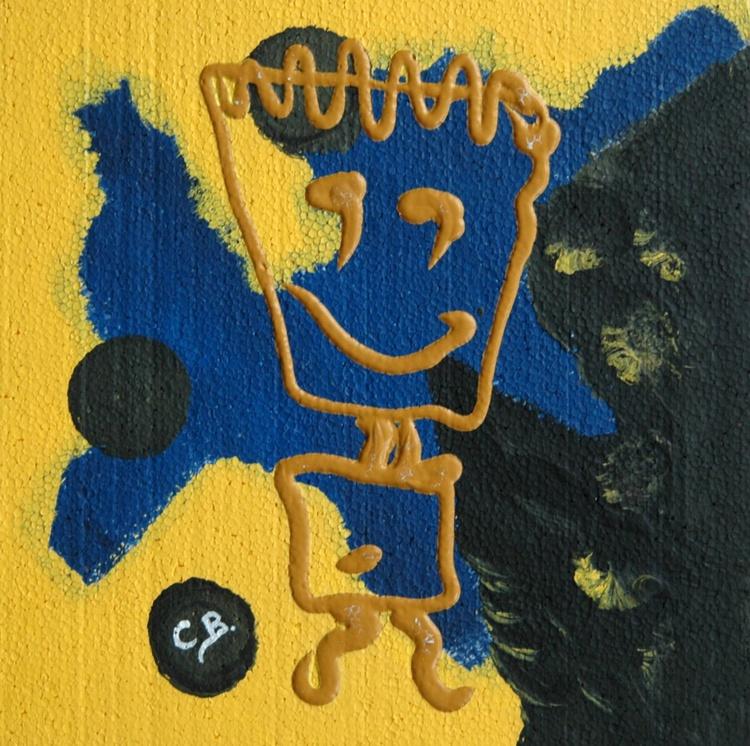 MR. HAPPY on polystyrene - Image 0