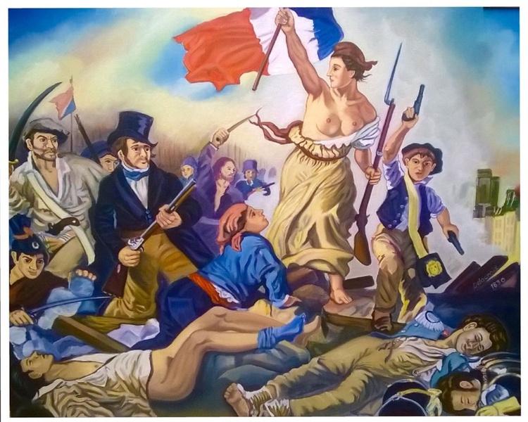 La Libertad Guiando al Pueblo - Image 0