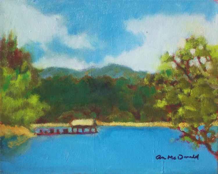 Boat Dock on Lake