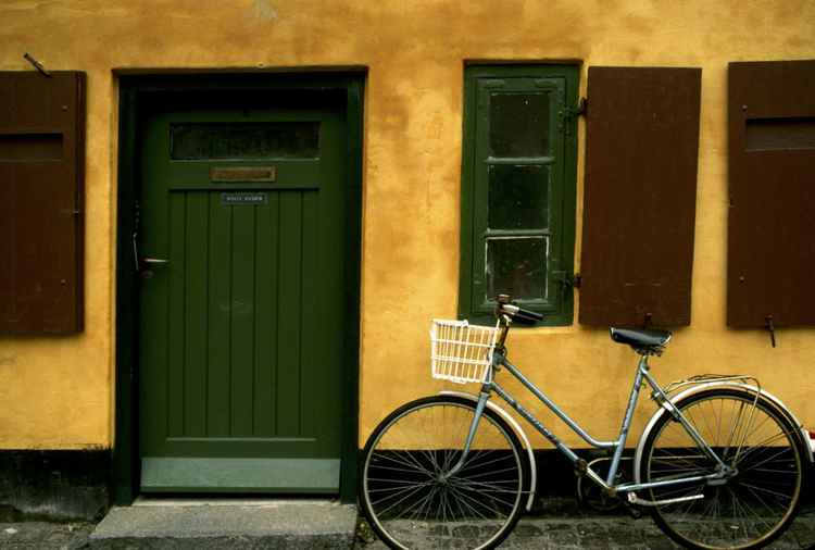 House and Bicycle, Copenhagen -
