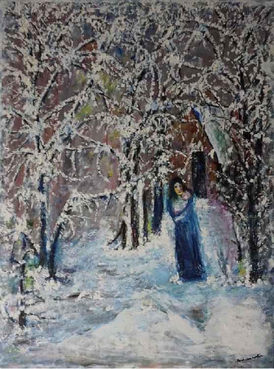 Snow fall -