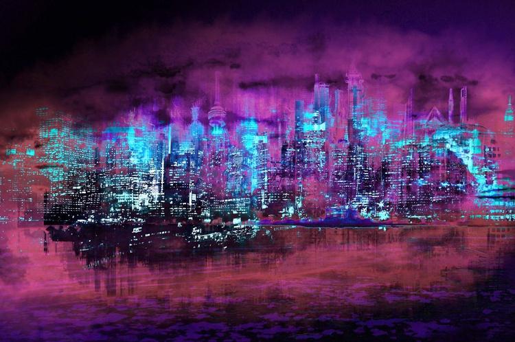 Neon City II - Image 0