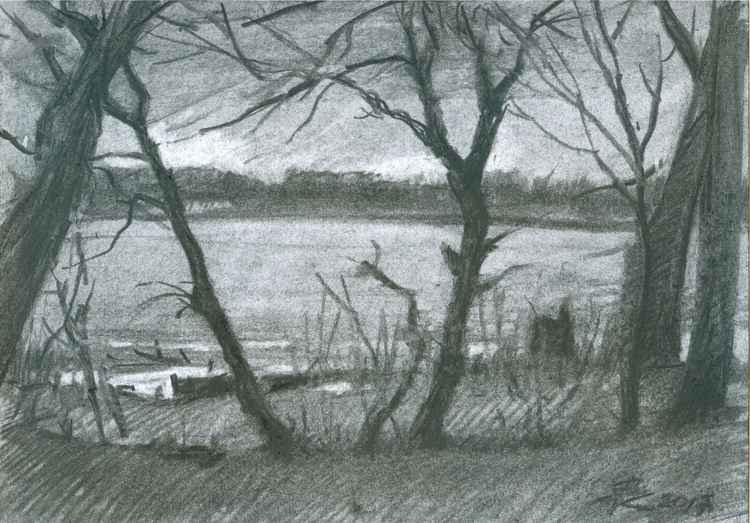 Wild coast#3 (sketch) -