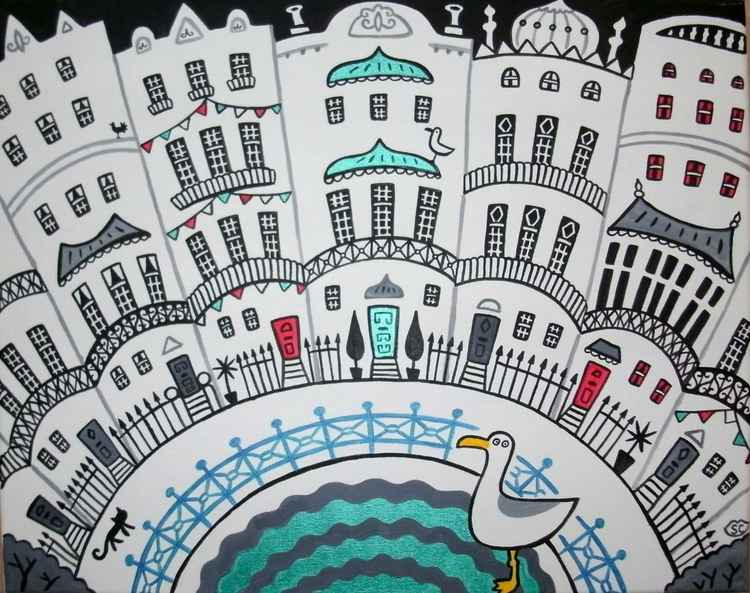Brighton Houses 'waves'
