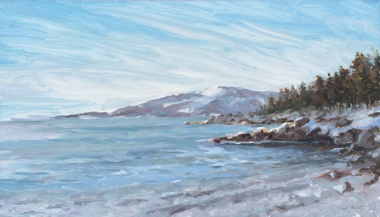 Cadillac Mountain from Schoodic Point - Currently Showing - Image 0