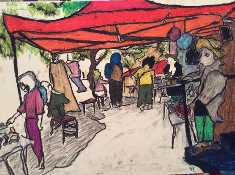 Magdalen market #2 -