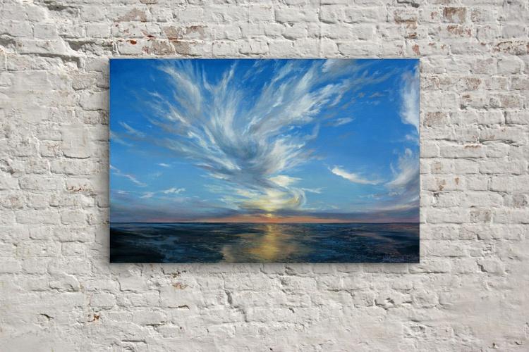Original artwork Sunset, skyline, seascape,ocean - Image 0