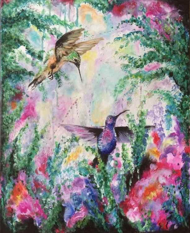 Humming Birds -