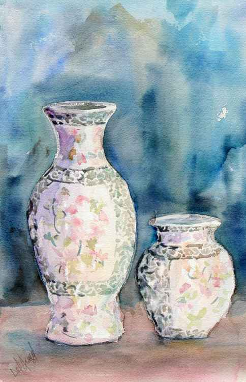 Vases of ceramics -