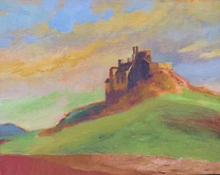 Lindisfarne Castle England -