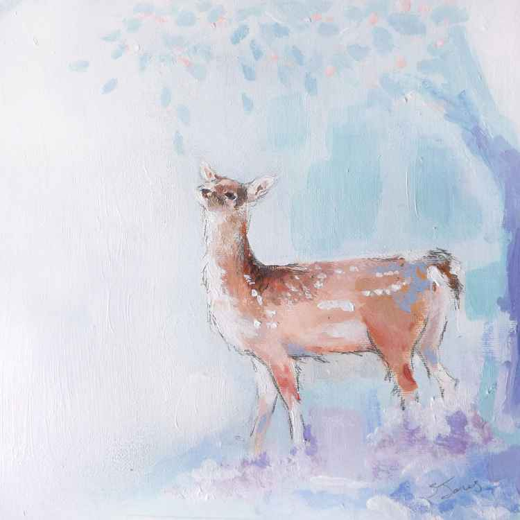 Spring Deer -