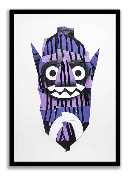 'Purple mask'