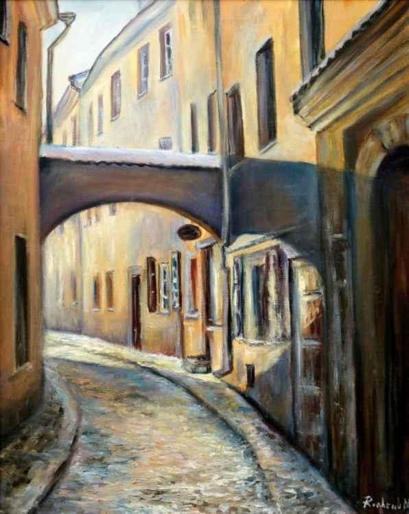 Stikliu Street -
