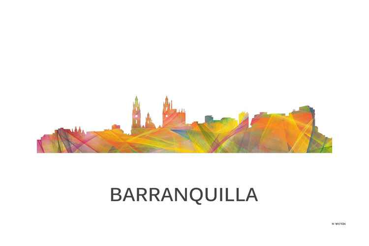Barranquilla, Colombia Skyline WB1 -