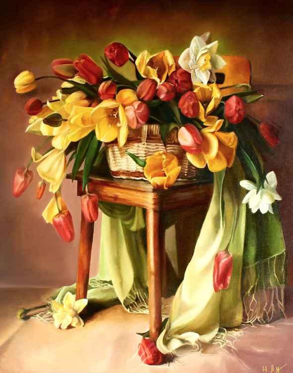 Symphony tulips -
