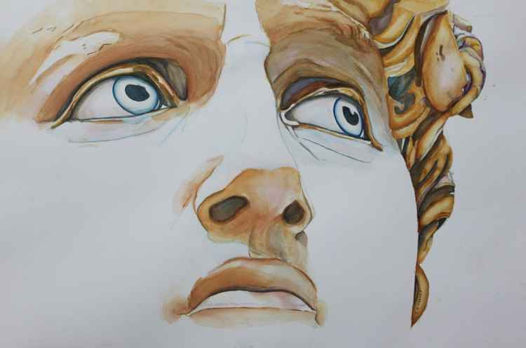 Those Eyes - Michelangelo's David -