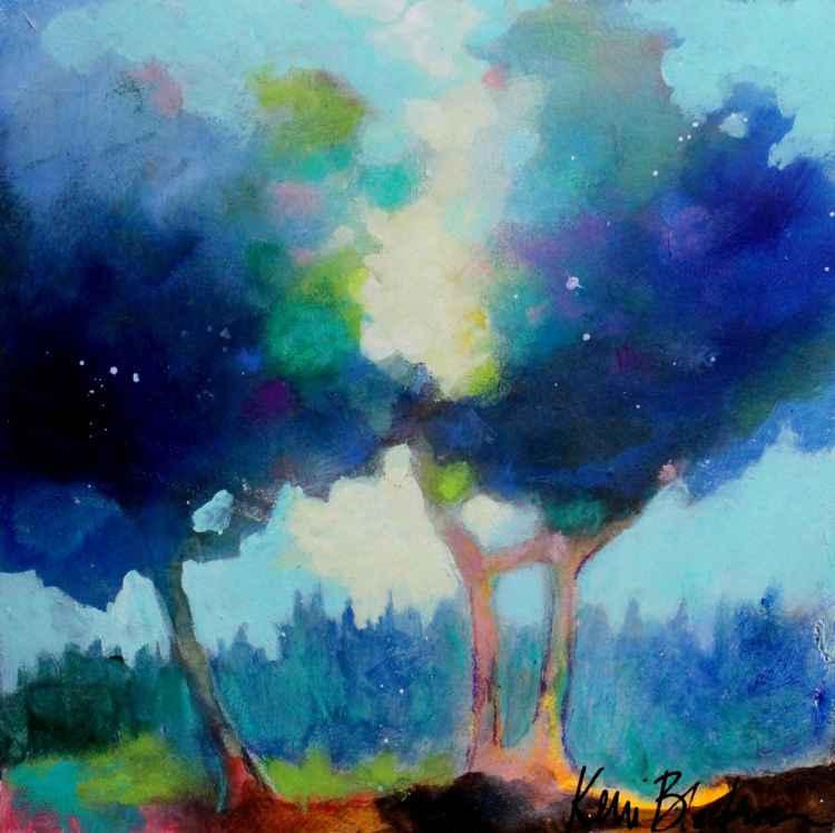 Blue Trees -