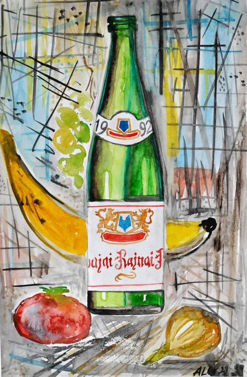 The Bottle of Riesling - Image 0