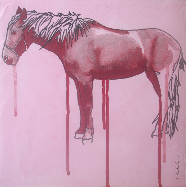 Horse Carved XXIX - Image 0