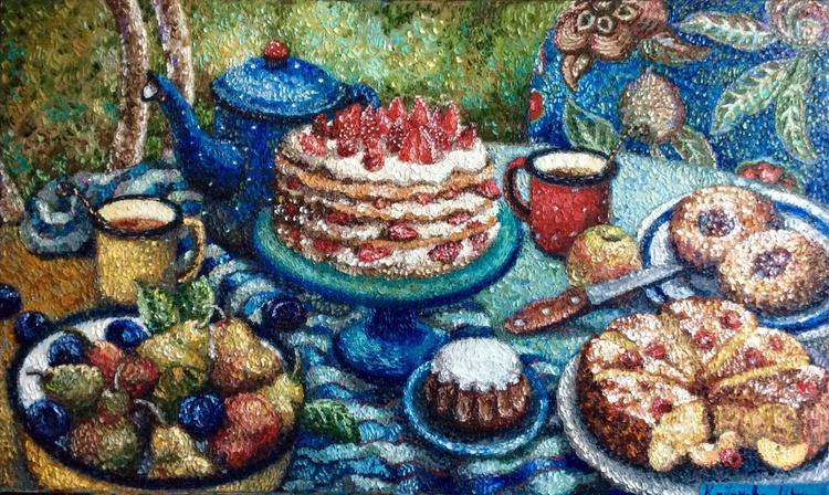 tea in the garden - Image 0