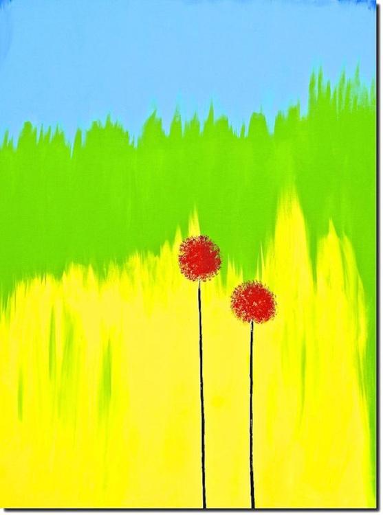 Red Poppy flower -Dazzling - Image 0