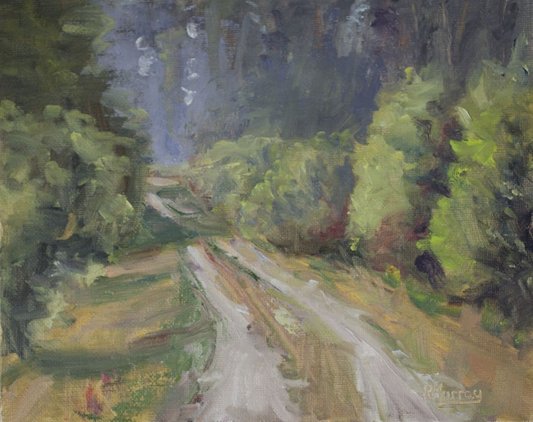 Tree Lined Road - Image 0