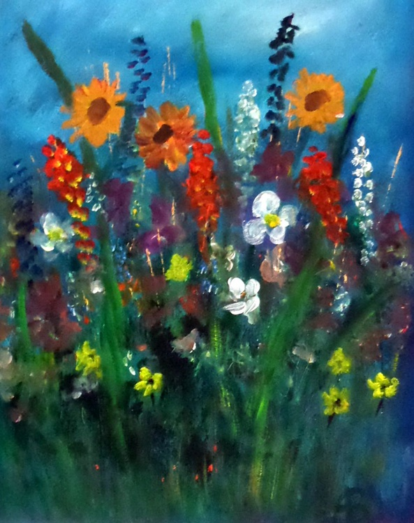 Summer meadow. 1 - Image 0