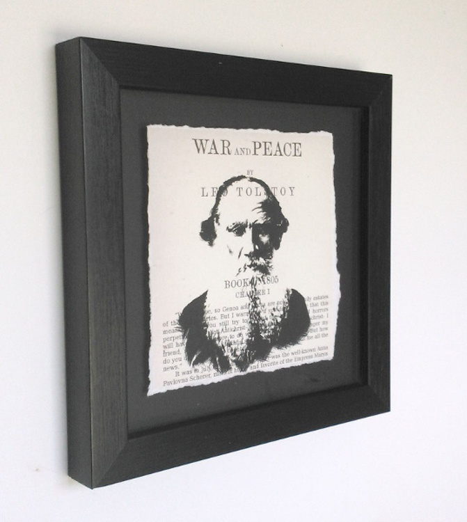 Tolstoy - War and Peace (Framed) - Image 0