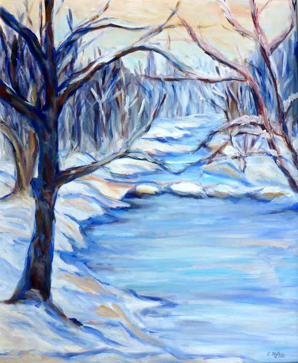Winter Landscape -