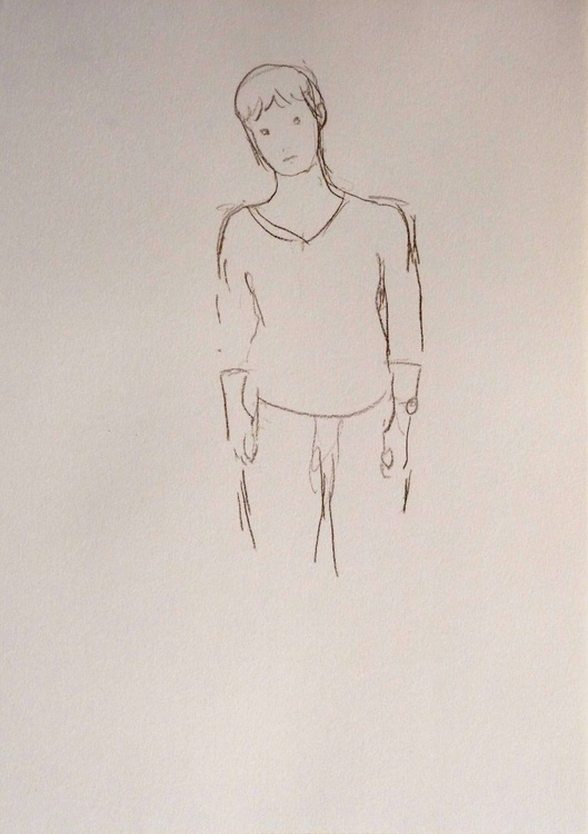 January #2, life drawing 29x42 cm - Image 0