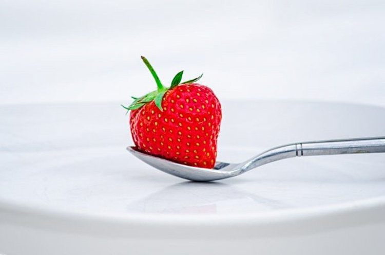 Strawberry On A Plate  - Limited Edition Print - Image 0