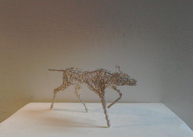 Gundog in Silver - Image 0