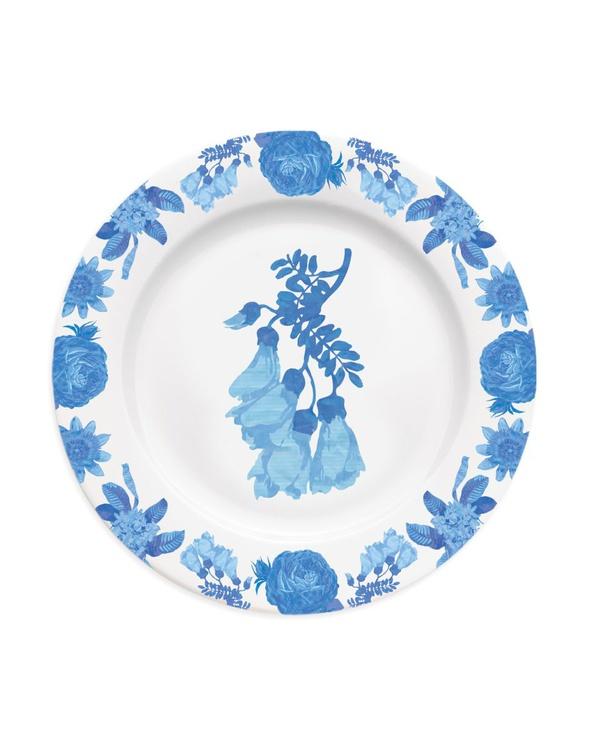 Chintz floral kowhai plate - Image 0