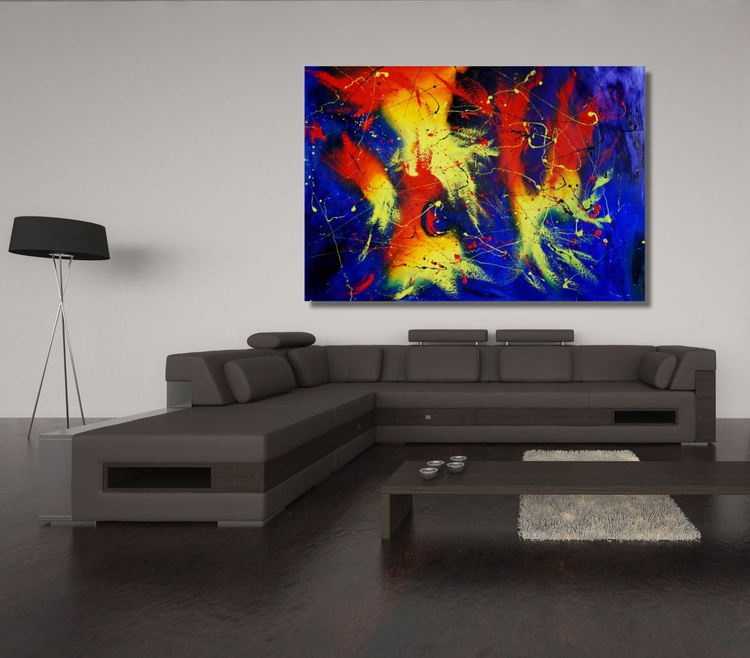Anger Management (130 x 90 cm) - Image 0