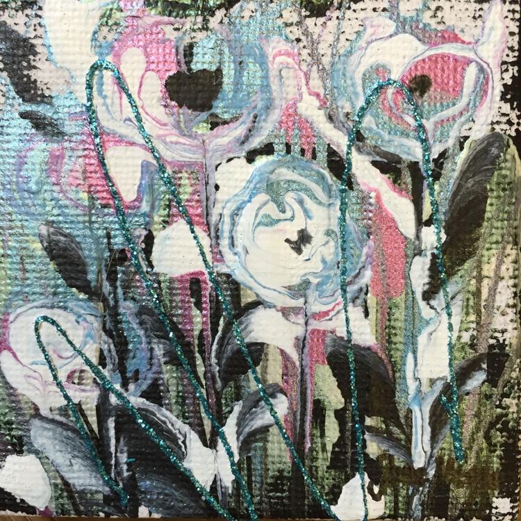 Mini flowers, framed - Image 0