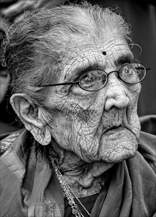 96 Year Old Indian Woman - Image 0