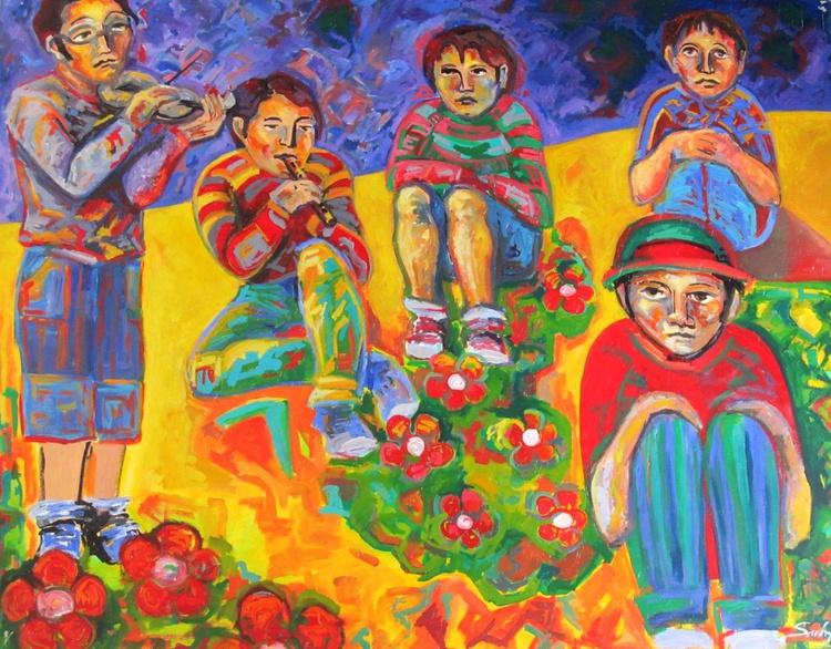Musicians children - Image 0