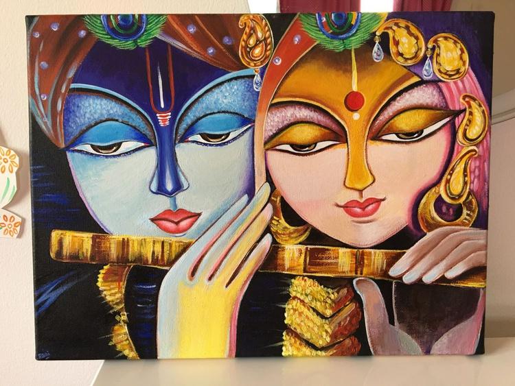 The Divine Couple ~ Radha Krishna - Image 0
