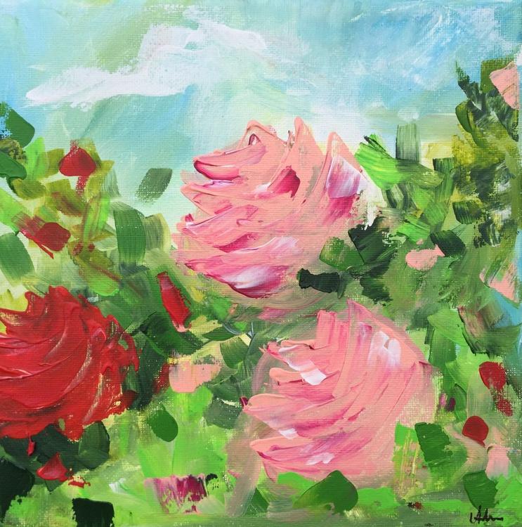 Mini Study - Vintage Pink Roses #1 - Image 0