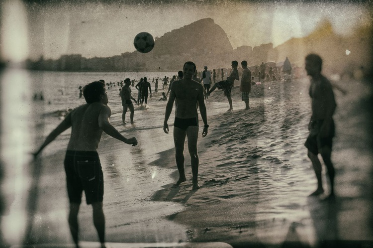 Brazil Football Beach - Image 0