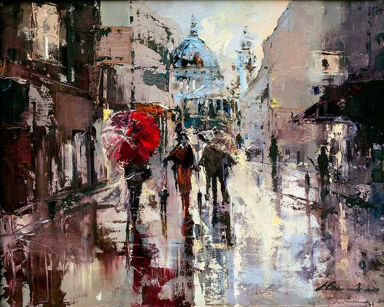 'Rain in St.Paul's'